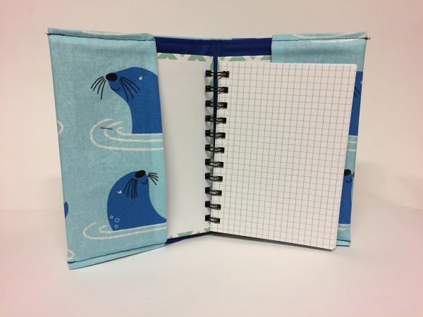 Cover Notizbuch A6 Handarbeitseckle