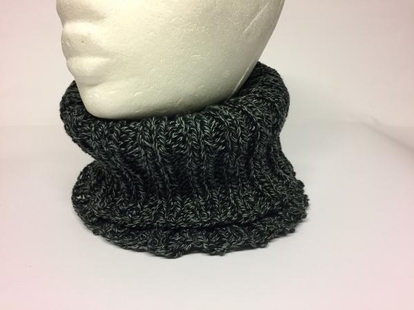 Halswärmer Neckwarmer Schlauchschal gestrickt Handarbeitseckle