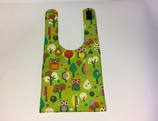 Lätzchen für Babys & Kinder Waldeulen genäht Handarbeitseckle