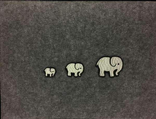 Dokumentenmappe Elefant Filz Handarbeitseckle