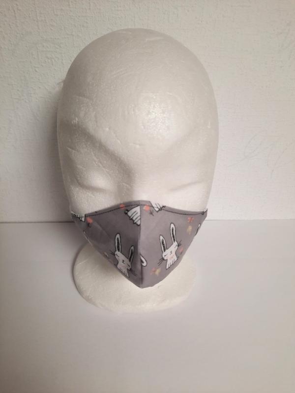 Behelf-Mund-Nasen-Maske, Behelfs-Mund-Nasen-Maske, Alltagsmaske, Maske, Handarbeitseckle