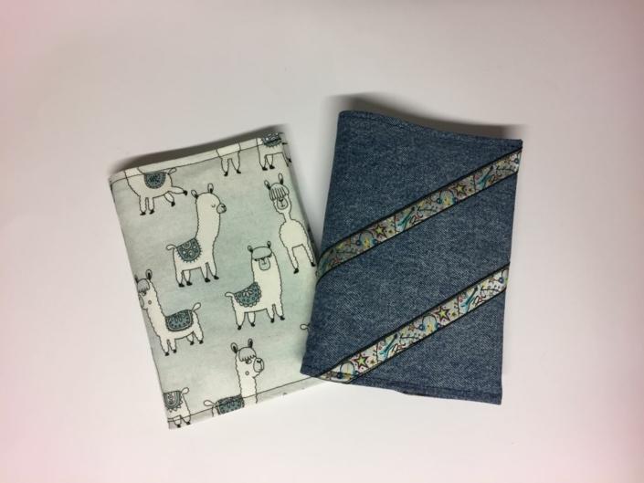 Cover mit Notizbuch Handarbeitseckle